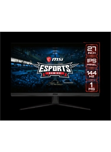 MSI MSI Optix G271 27 1920x1080 144Hz HDMI DP 1ms FreeSync Gaming Monitör Renkli
